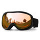 Ready To Ship Anti Fog Ski Helmet With Goggle Snowboard Glasses Snow Googles