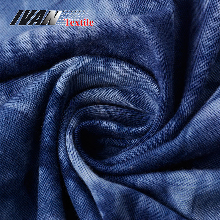Breathable Dyed 100 Cotton Knit Fabric For Dress