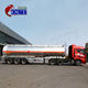 Good quality truck and semi trailer set 3 axles ADR diesel 40000 Litres fuel oil tanker trailer for saudi arabia