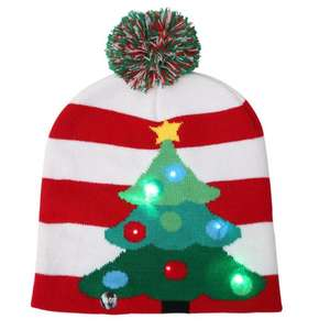 Super Quality OEM Red Color Santa Hats Felt Christmas Hat for Children and Adults