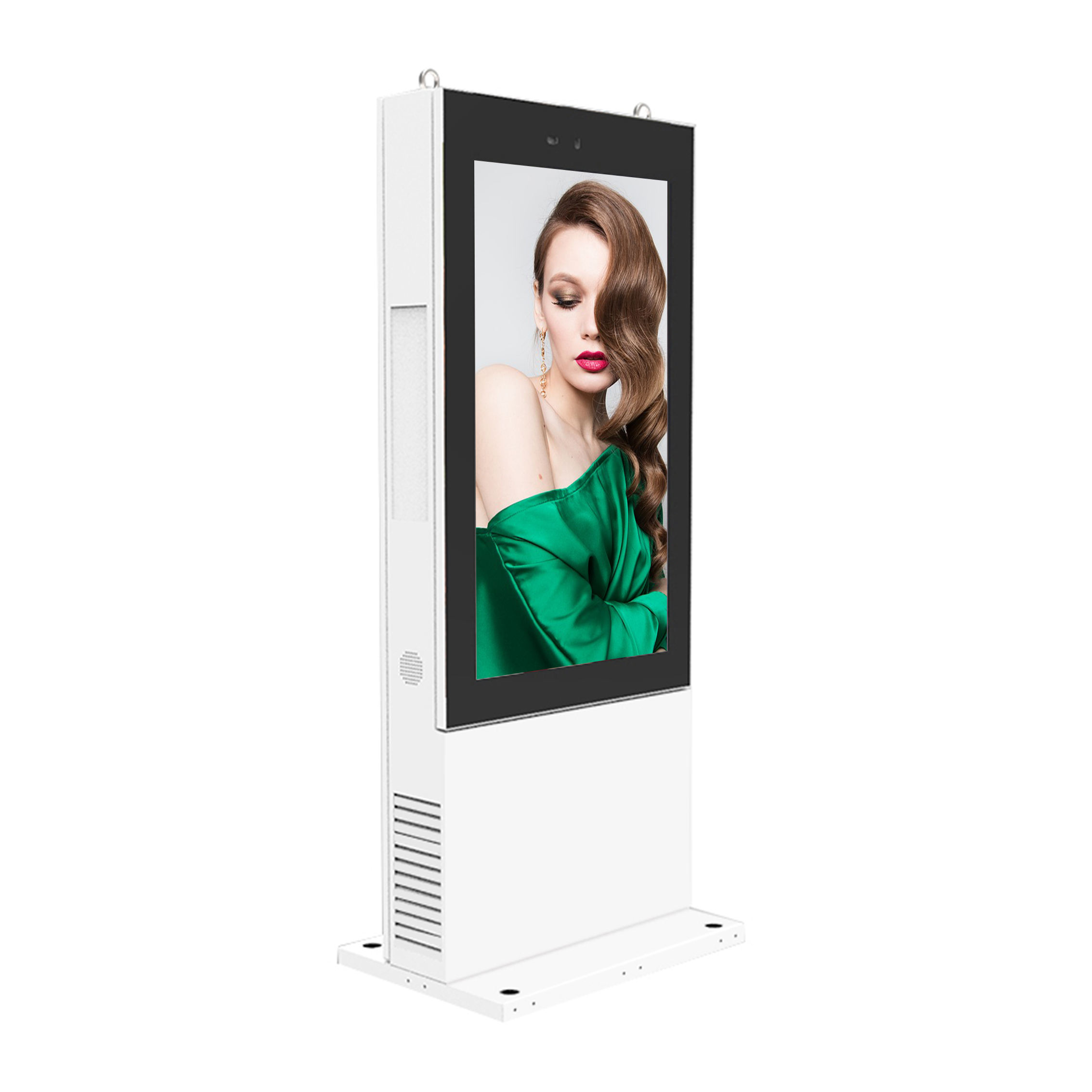 Low Price 55inch solar advertising display outdoor digital signage screen