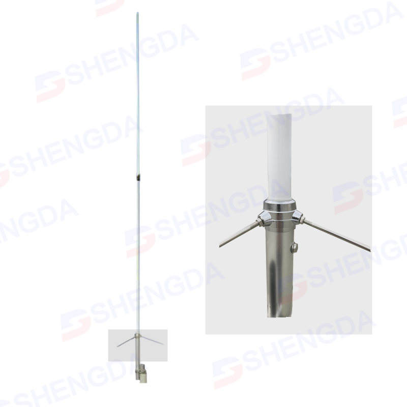 Dual band VHF/UHF 3.1meter amateur radio fiberglass fixed Base station Antenna X300