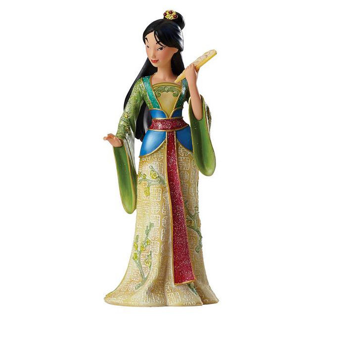 Hot Toys for kid/Princess MULAN Story, OEM Famous Action Film Figure Anime , OEM Resin Cartoon Figurine Maker
