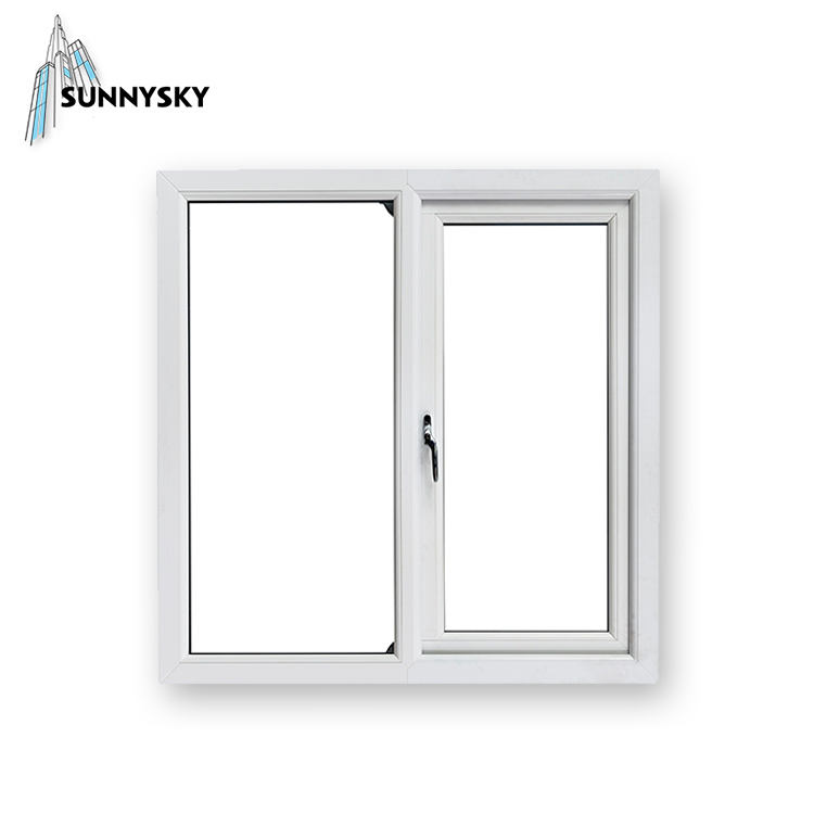 ขายไวนิลTint Dressing Supply 90องศาUPVC Casement Windows
