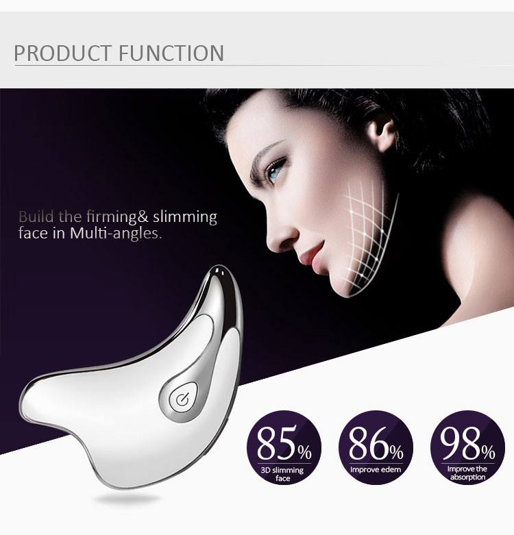 Ms.W facial spa gemstone toner electric body massager