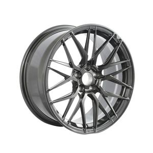 Black Car alloy wheels 18 inch forged black aftermarket aluminum wheels