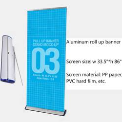 Low cost Customized outdoor  Roll up banner