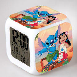 Lilo & Stitch Frameless Borderless Wall Clock Nice for Gift or Room Wall Decor clock