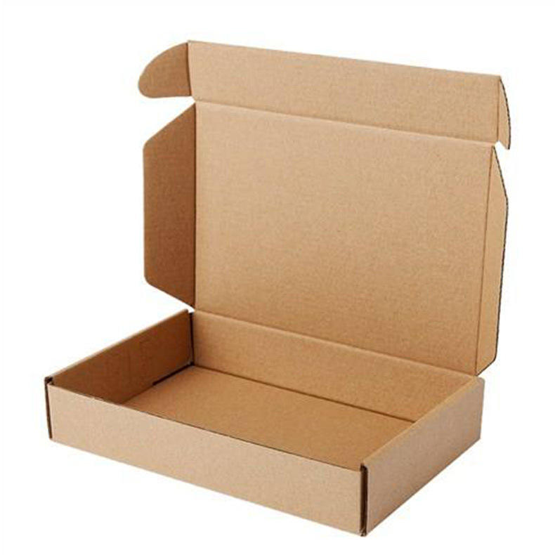 Stock Packaging Boxes NO logo big hard kraft paper recycled shipping corrugated mailer box