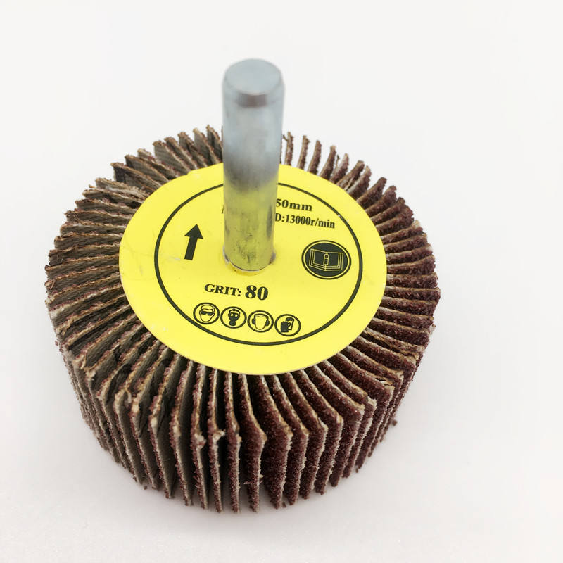 free samples for Abrasive mounted Flap Disc mini flap wheel mop wheel with sharft