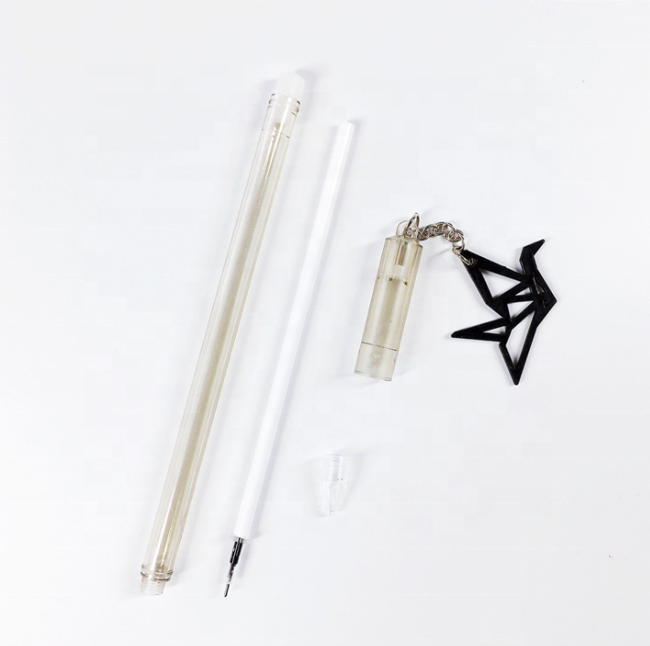 thousand paper crane pendant pen peace pigeon pendant gel pen