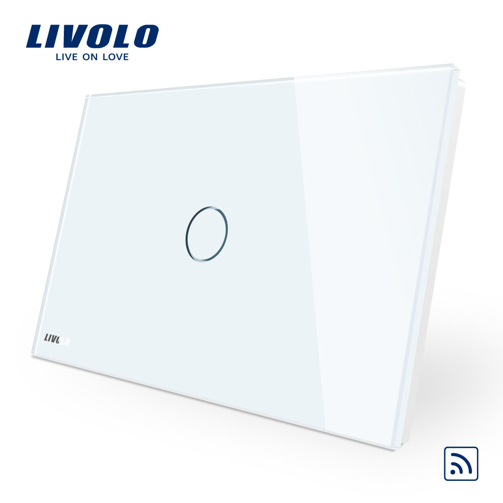 Livolo Lamp Wifi Touch Switch Bedroom Furniture,Automatic Wall Switch For Bedroom Sets
