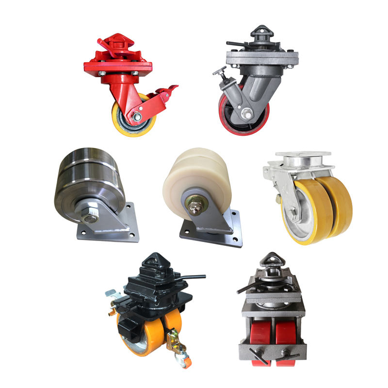 super heavy load caster wheel caster wheel super heavy duty Iron Core PU universal shipping container caster wheels