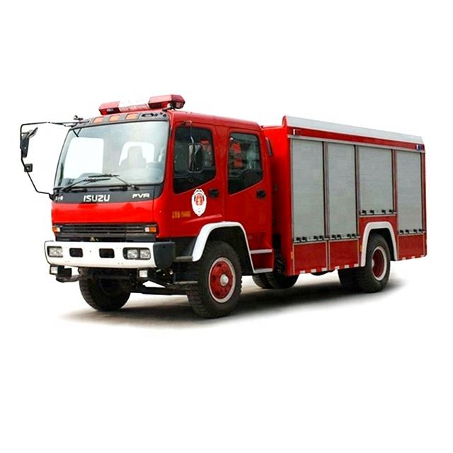 Isuzu New 4X2 7tons Water Tank Fire brigade Truck for Fire Security Rescue 240HP Extinguisher