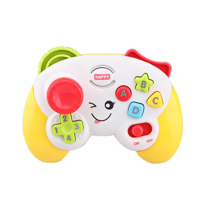Set of 6 Pcs Battery Operated Baby Controller Musical Toy with Light and Music