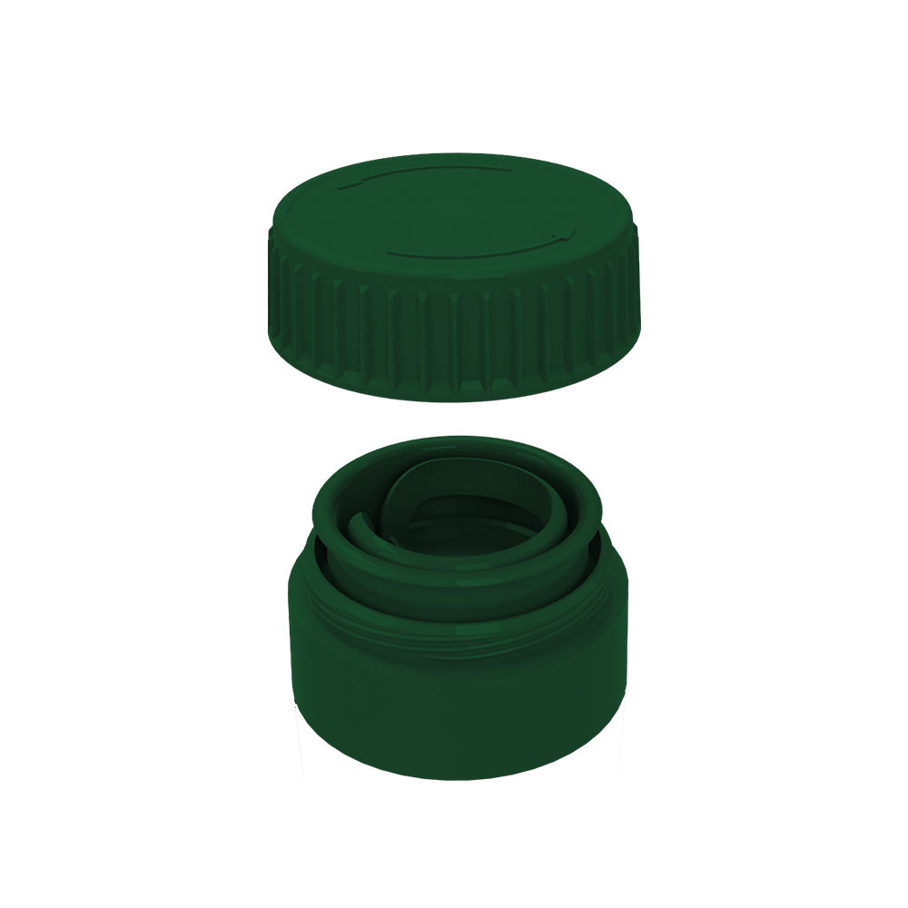 28ミリメートルTwo Parts Snap-On Tear-Off Seal Cap For Pet And Glass Bottles