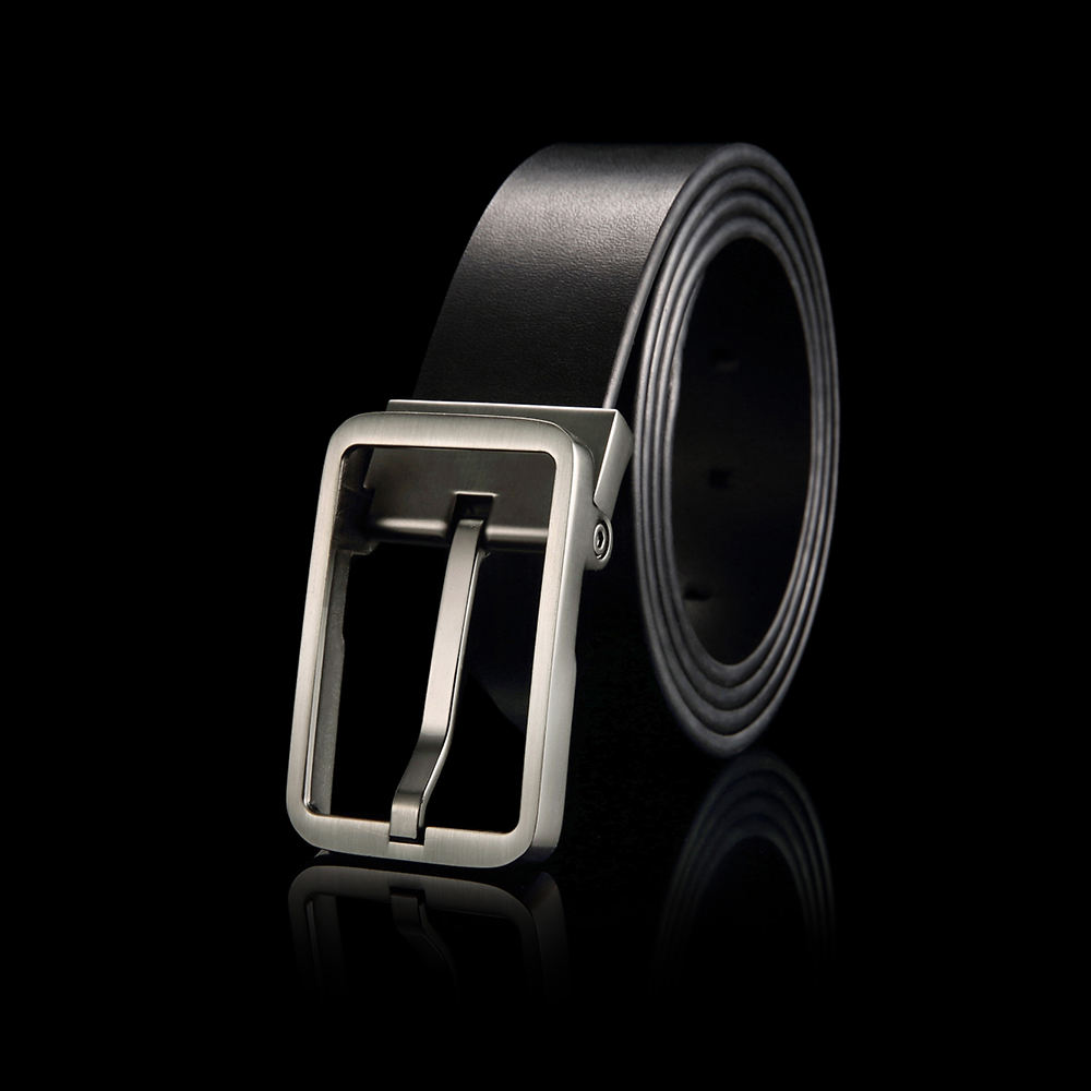 Custom Design Leather Belt Men's Automatic Buckle Belt for Belts Leather Men