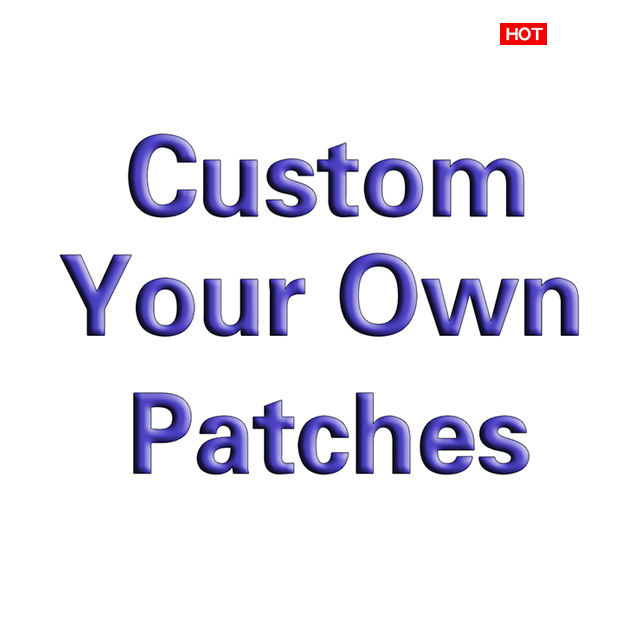 Custom No Minimum Iron On patches Custom Embroidered Patches for Clothing