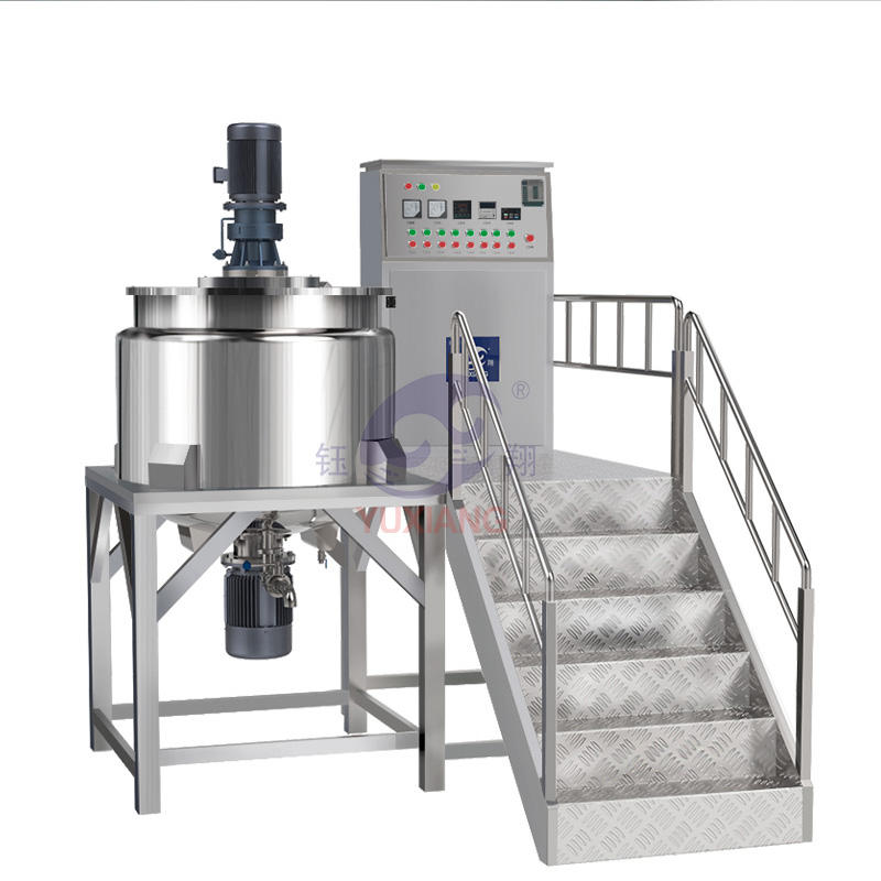 Popular Cosmetic Industrial Blender Shampoo Liquid Soap Mixer Machine Made/food Grade Mixing Tank With Agitator
