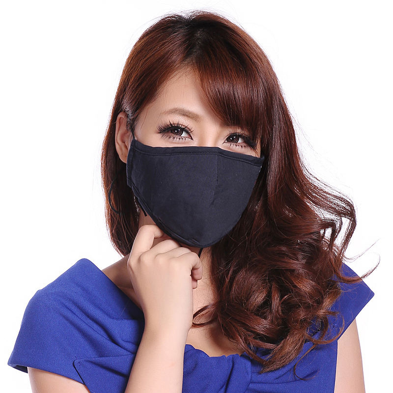 Guangzhou Factory OEM Anti Air Pollution PM2.5 Filter Cotton Face Mask Custom