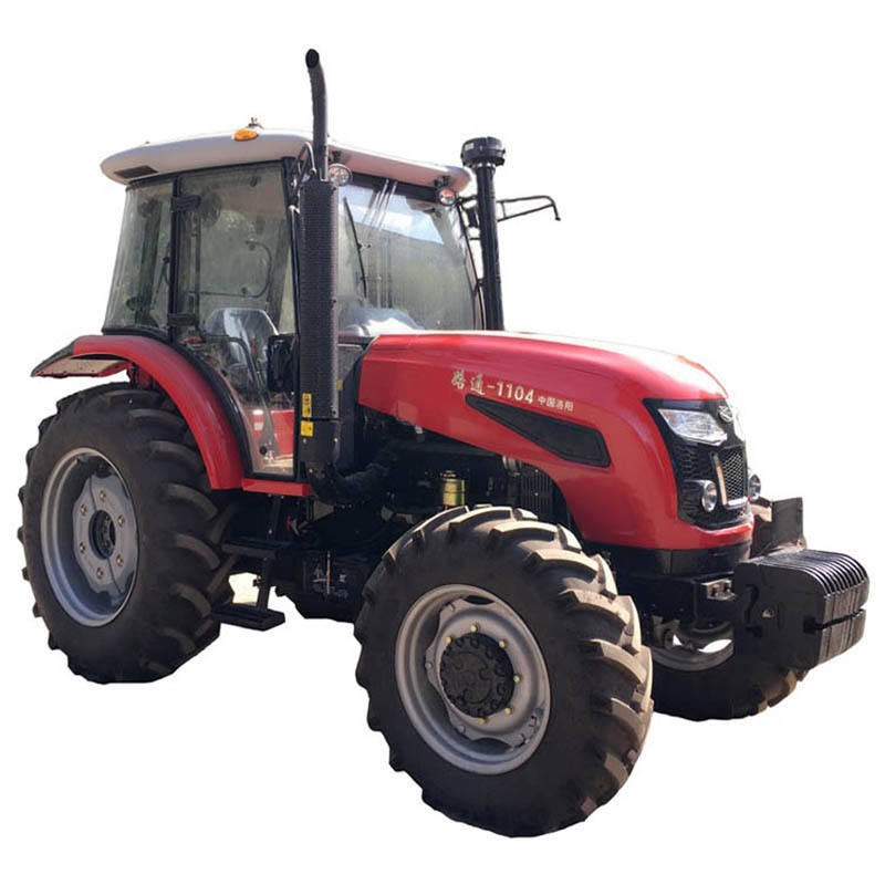 China Comfortable Working Style For Thailand Farm LUTONG Tractor With Turbo Rice Cultivation