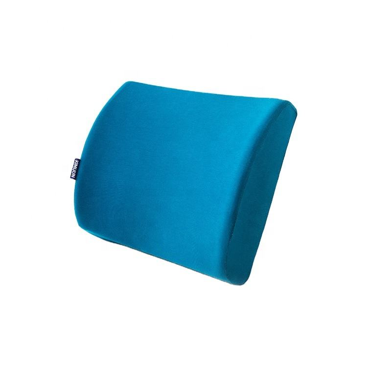 Office Chairs Orthopedic Contour Backrest Roll Car Chair Memory Foam Back Lumbar Support Bed Cushion For Sofa