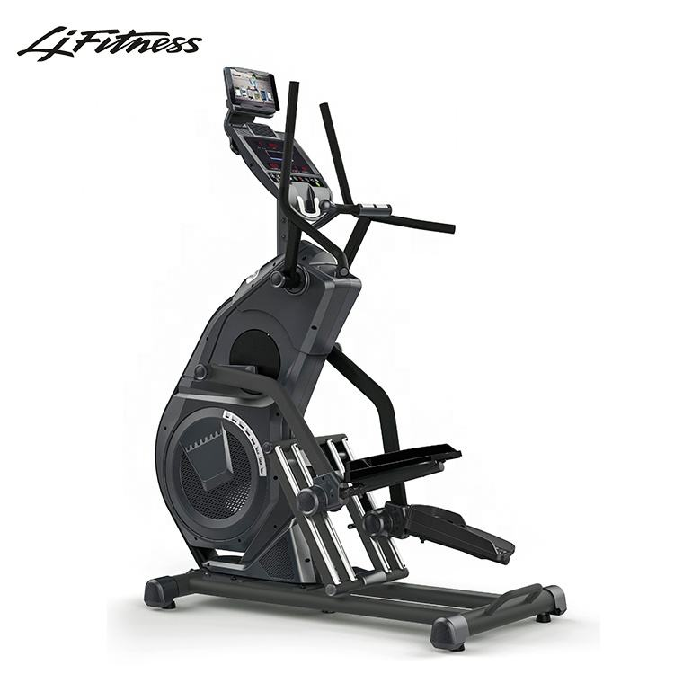 New luxury commercial gym equipment elliptical stair cross lateral thigh trainer stepper fitness exercise machine