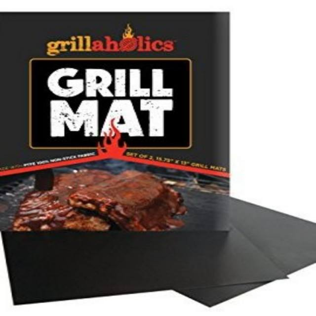 2020 New Product Heat Resistant Non Stick Bbq Cooking Mat Custom Set Of 5 Barbecue BBQ Grill Mat