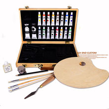 Professional Full Colors Oil Paint Painting Art Set For Kids With Box