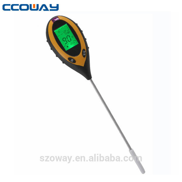 4 in 1 tester del suolo PH meter