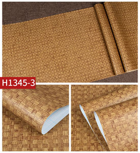 Fabric Waterproof PVC Wall Paper Backed Vinyl Wallpaper For Home Hotel Decoration