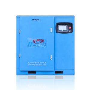 11kw 15hp 12 bar high pressure low volume electric industrial oil free screw air compressor