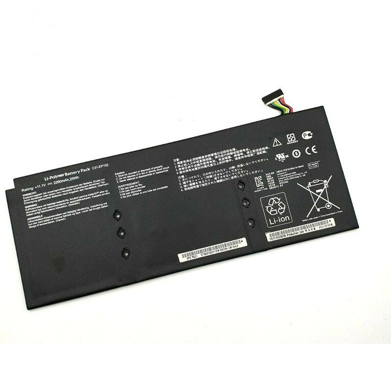 Laptop accessories 100% new original laptop battery C31-EP102 for Asus Eee Pad Slider EP102 OEM tablet battery 11.1V 25WH 3cell