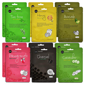 Honey Tea Tree Charcoal Facial Mask Paper Sheet Korea Skin Care Moisturizing facial sheet mask