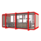 Shop [ Homes Kit ] Modular Homes Modern Houses Prefabricated Homes For Living Container Room Wood Cabin Kit Small Prefab House