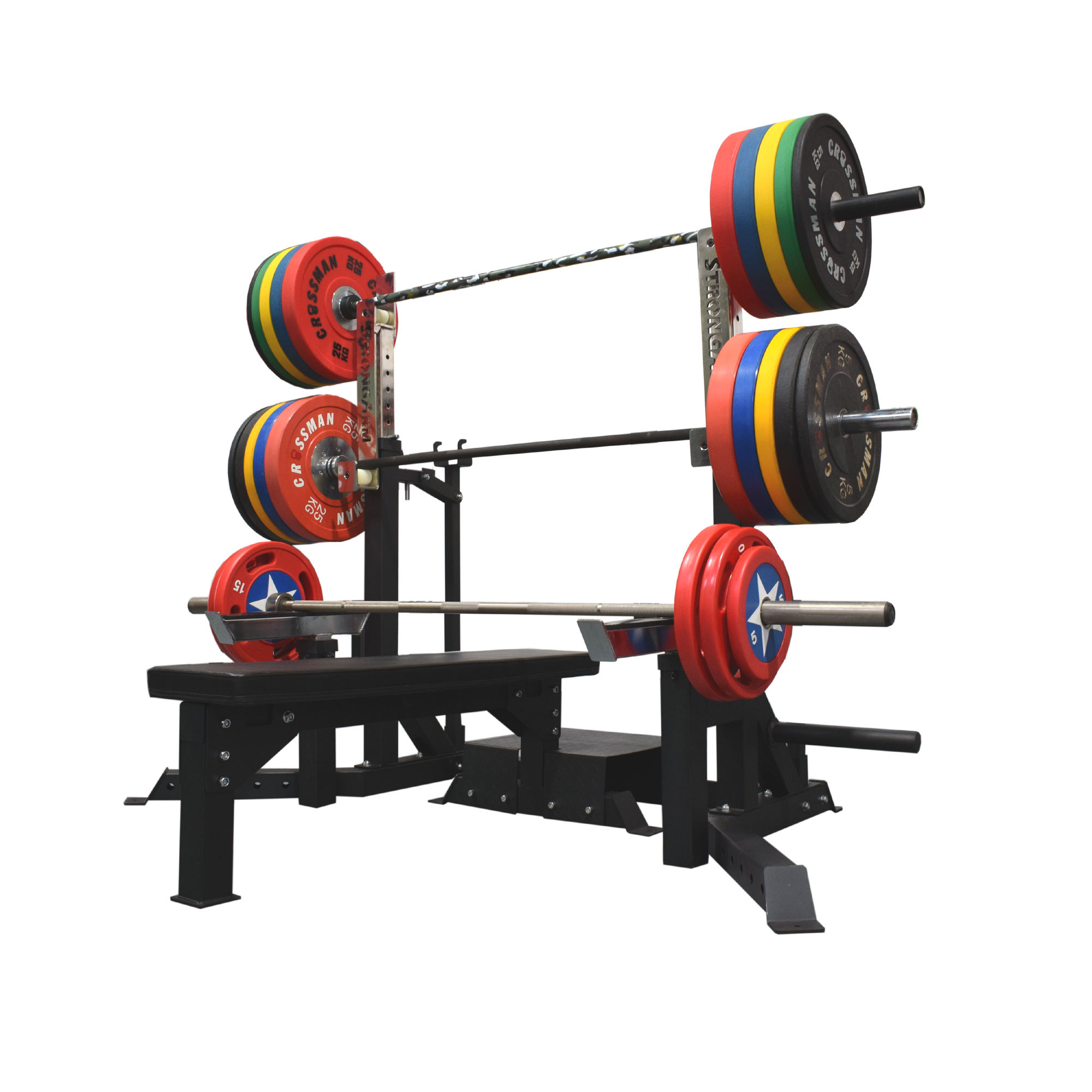workout bench for exercises gym equipment adjustable power dumbbell bench press and squat rack barbell set weight lifting