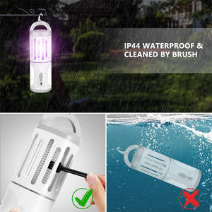 3 In 1 Waterdichte Emergency Draagbare Uv Bug Zapper Oplaadbare Usb Outdoor Muggen Killer Lamp 2020
