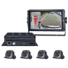 360 Surround Bird View Vehicle Camera System 1080P Wi-Fi/GPS tracking 360 Degree Car Security Camera for Recording