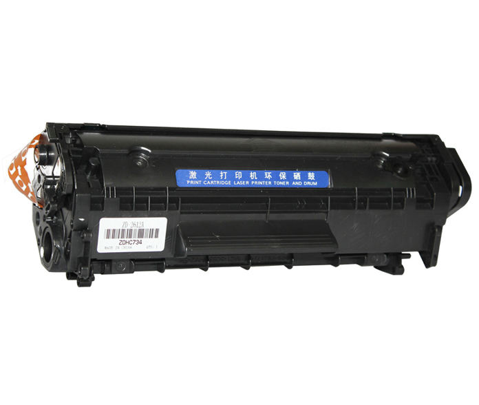 Cartucho de tóner Compatible con HP Q2612A 2612A 12A, venta al por mayor de fábrica en China, color negro Laserjet