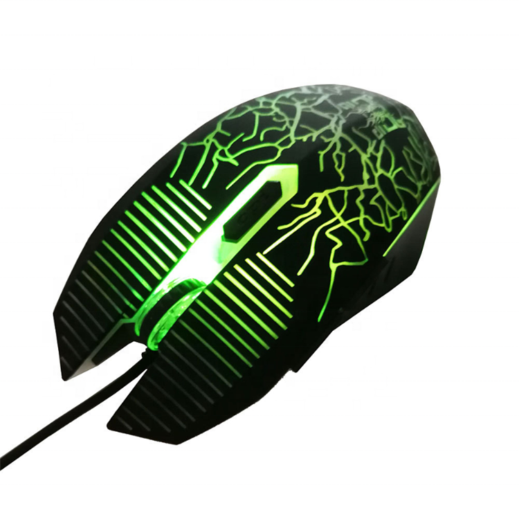 New Trend Più Poco Costoso colorato con LED back light wired 6D ottico gaming <span class=keywords><strong>mouse</strong></span> <span class=keywords><strong>del</strong></span> computer