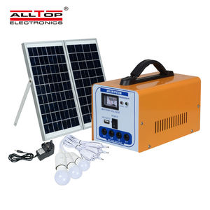 ALLTOP Home Solar Panel System 30W Saving Solar System Roof Mounting Solar Energy Systems