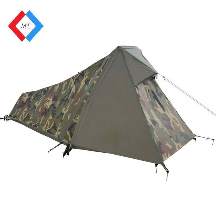 Wholesale One person Portable Outdoor Camo Swag Camping Army Tents for Sale