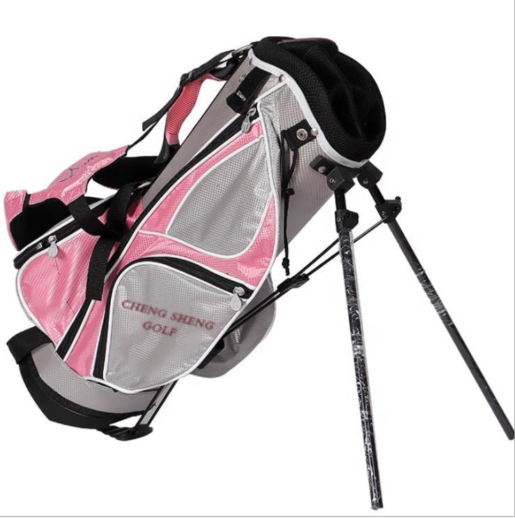 Custom junior golf stand bag golf bag with stand for girls