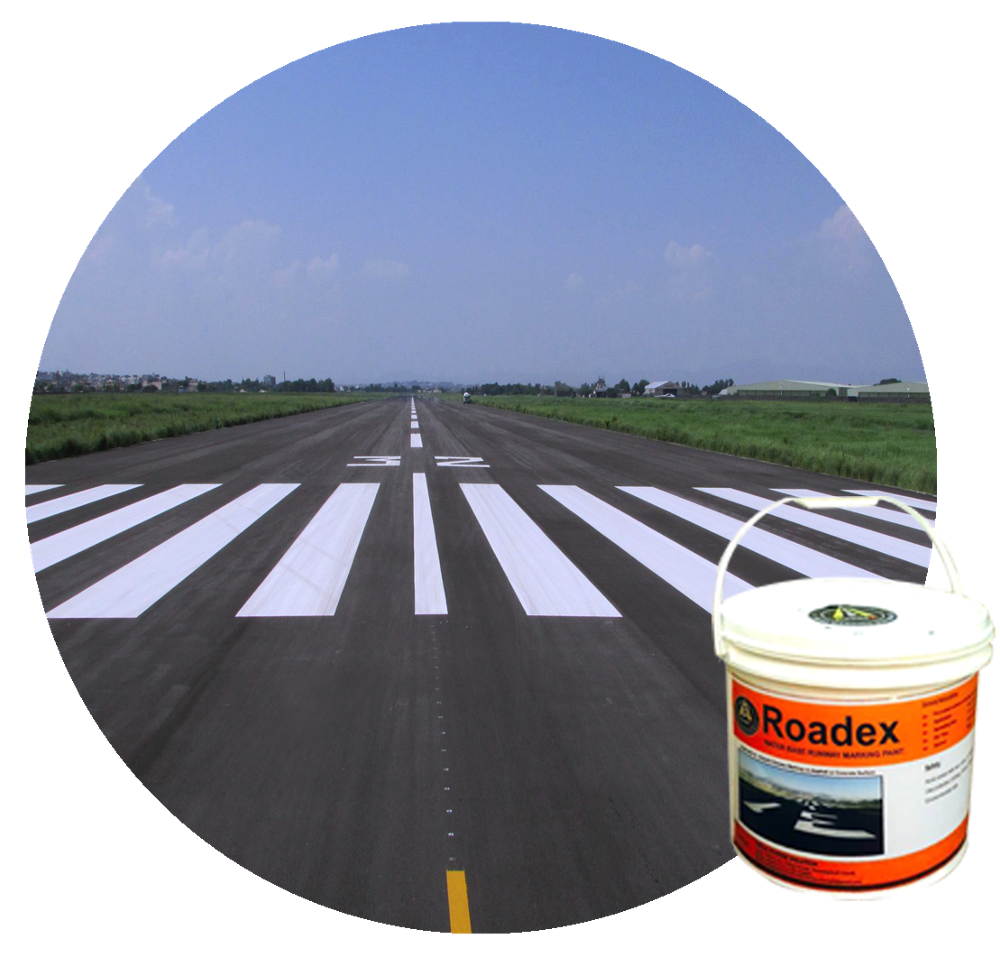 Water based Acrylic Runway/Road Marking Paint