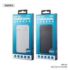 Remax 2020 hot selling smart 4 battery life indicator power bank