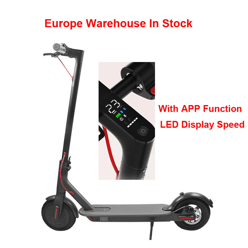 Drop Shipping Europe Warehouse Xiaomi M365 Pro Electric Scooters Adult With 7.8Ah Battery Electric Motorcycles