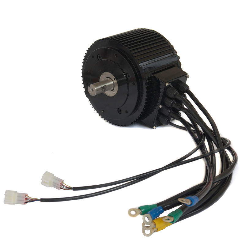 48V 72V 10KW BLDC Electric motorcycle motor electric car conversion kit from Golden Motor
