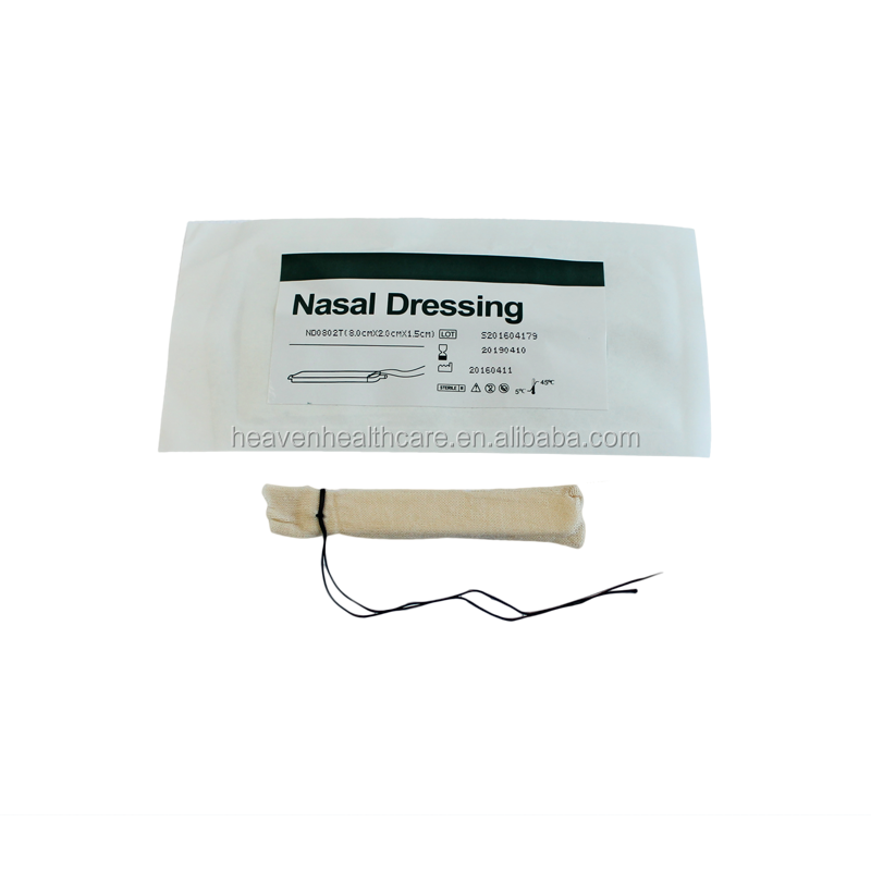 Medical Disposable Nose Plaster Bandage, Hemostatic Epistaxis PVA Nasal Dressing
