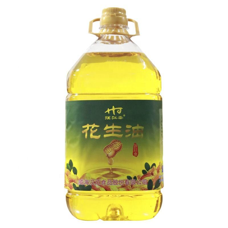 high quality peanut oil plastic bottle Cold Pressed Refined Peanut Oil peanut oil 5l