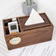 Tissue Box Wooden Multifunctional Tissue Box Cover Wood Tissue Box Paper Wooden With Storage Box